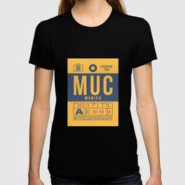 Luggage Tag B - MUC Munich Germany T-shirt