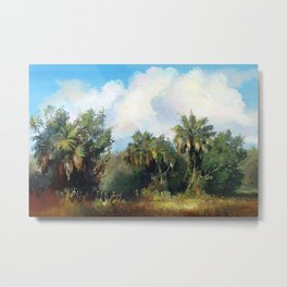 In the Everglades Metal Print