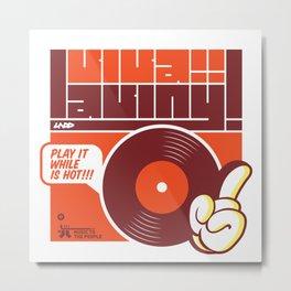 UNDO | Music to the people 02 Metal Print
