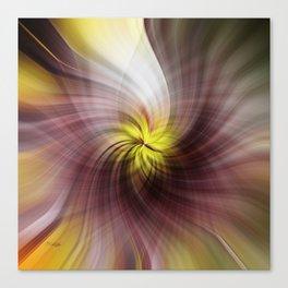 Maple Swirl Canvas Print