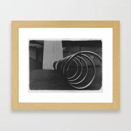 Coil3 Framed Art Print