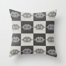 robottoPattern Throw Pillow