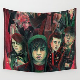 WHY DON'T YOU JUST DROP DEAD? Wall Tapestry
