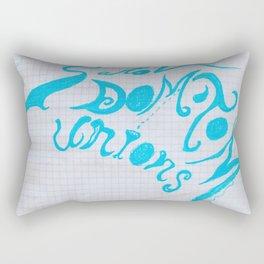 """Logo pour le """"Diamant Noir C ta nous Rectangular Pillow"""