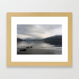 Windermere from Low Wray - the Lake District, England Framed Art Print