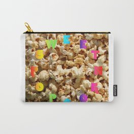 Sweet Popcorn – Clock 10 - Living Hell Carry-All Pouch