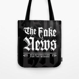 The Fake News Header Tote Bag