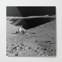 Lunar Vehicle  Metal Print