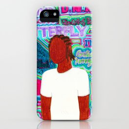 Kendrick Psychedelia iPhone Case