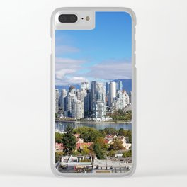 vancouver canada Clear iPhone Case