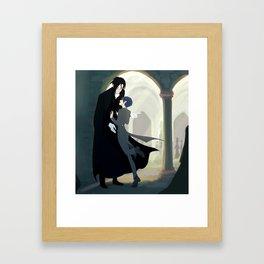 "Black Butler- ""don´t run on hallways"" Framed Art Print"