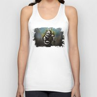 rocky Tank Tops featuring Rocky by Wesley S Abney