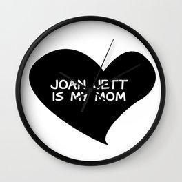 Loving Joan Wall Clock