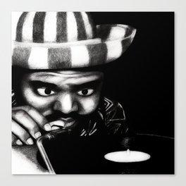 Reggae DJ Canvas Print