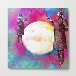 DUEL FOR THE MOON Metal Print