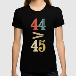 44 > 45 Anti Trump Impeach T-shirt