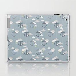 Stormy Nautical Pattern 2 Laptop & iPad Skin