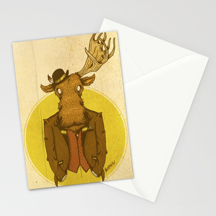 {Bosque Animal} Alce Stationery Cards