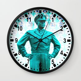 general, Eisenhower Wall Clock