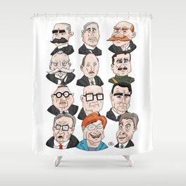 Presidents of Finland Shower Curtain