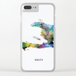 Haiti Clear iPhone Case