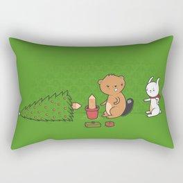 Beavers ruin Christmas Rectangular Pillow