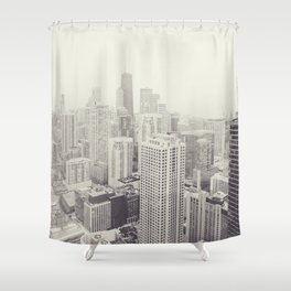 Chicago2 Shower Curtain