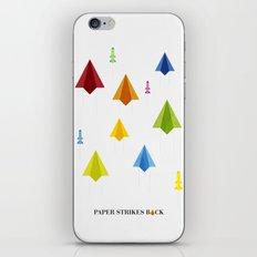 Paper Strikes Back iPhone & iPod Skin
