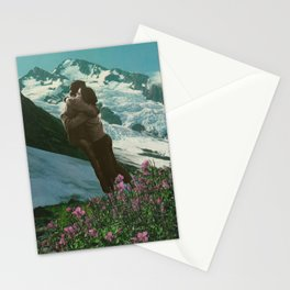 loving you is like a breath of fresh air Stationery Cards