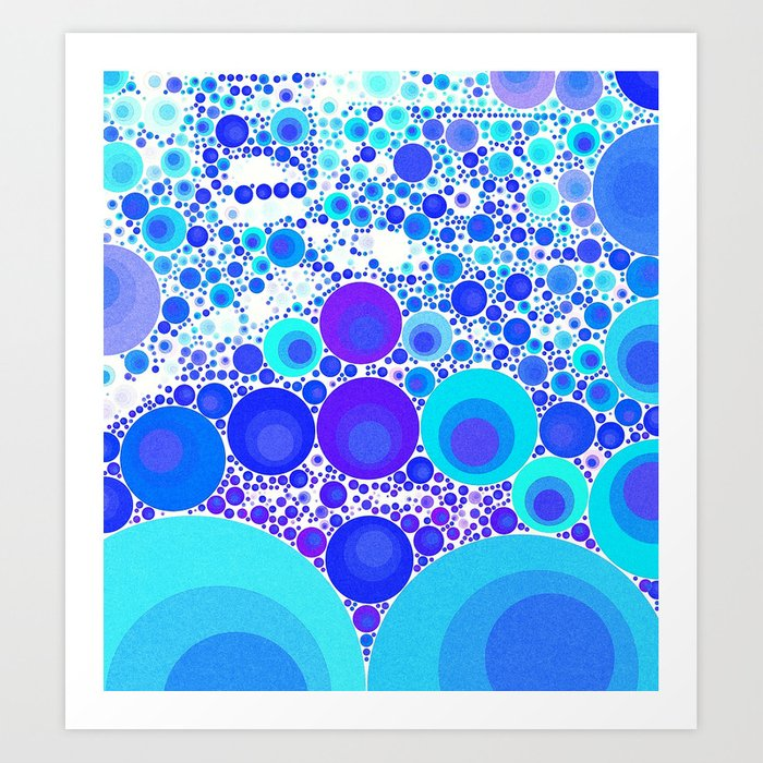 BUBBLESEA Art Print