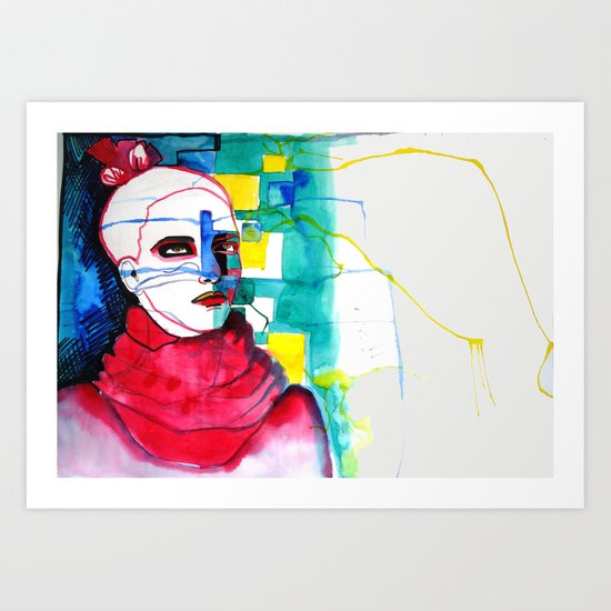 ExperimInks Art Print