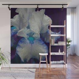Iris No.1a by Kathy Morton Stanion Wall Mural