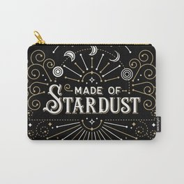 Made of Stardust – Black & Gold Palette Carry-All Pouch