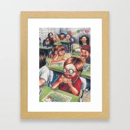Recess Framed Art Print