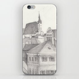 The Magic Town iPhone Skin