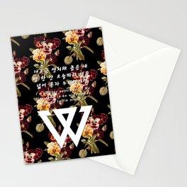Sentimental Hangul Stationery Cards