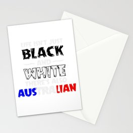 Life Isn't Just Black and White Also Australian Stationery Cards