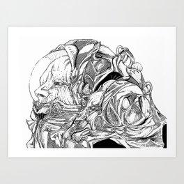 Astronaut 01 Art Print