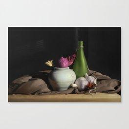 Serene Still Life Canvas Print