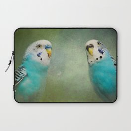 The Budgie Collection - Budgie Pair Laptop Sleeve