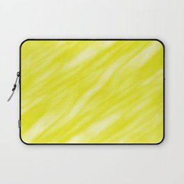 A fluttering cluster of yellow bodies on a light background. Laptop Sleeve