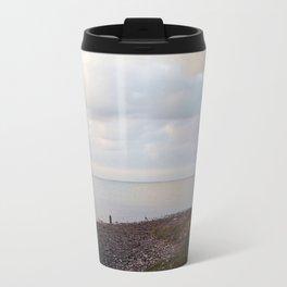 Galveston Bay at dusk Travel Mug