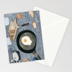 Egg For Breakfast Stationery Cards