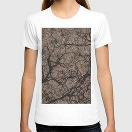 Tan Brown Hunting Camo T-shirt