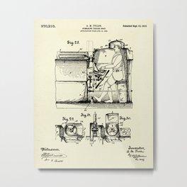 Submarine Torpedo Boat 10-1910 Metal Print
