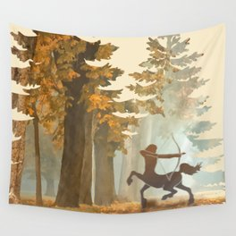 Mystic Hunt Wall Tapestry