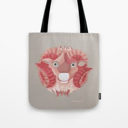 Aries (light grey) Tote Bag