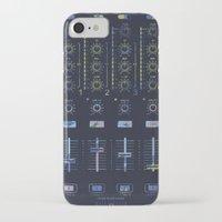 nicki iPhone & iPod Cases featuring DJ Mixer by Sitchko Igor