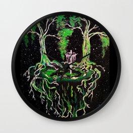 Swamp Discing Wall Clock