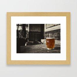 Pint in a Jug  Framed Art Print